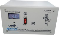 rahul V-555 a2 KVA/8 Amp 100-280 Volt 5 Step Deep Freege/Submersible Water Pump/2 Computer,Printer,Scanner,Photo Copier 100 to 360 Ltr Automatic Voltage Stabilizer(White)