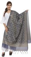 Zeeshan Creations Art Silk Woven, Floral Print Women Dupatta