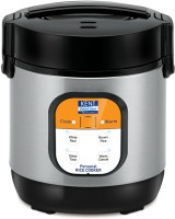 Kent 16019 Personal Electric Rice Cooker(0.9 L, Black, Grey)