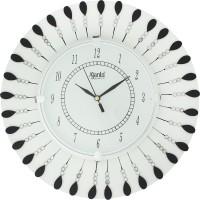 Ajanta Analog 33 cm X 33 cm Wall Clock(White, With Glass)