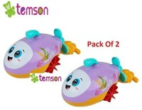 TEMSON 2 in 1 Lovely Submarine Water & Land Play Toy Bath Toy(Multicolor)