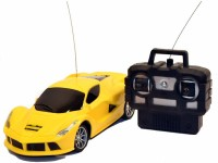 Whitewhale RC Full Function 1:24 Scale Toy Radio Control Modern Team Racing Car(Yellow)