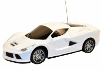 Whitewhale RC Full Function 1:24 Scale Toy Radio Control Modern Team Racing Car(White)