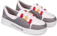 Orysta Women Grey Sneakers