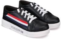 Orysta Women Black Sneakers