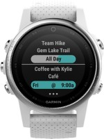 GARMIN Fenix 5s 010-01685-30 Smartwatch(White Strap, Regular)