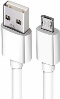 xllent Android USB Dta Cable 1 m Micro USB Cable(Compatible with Android devices, White, One Cable)