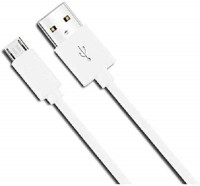 xllent White USB Charging Cable 1 m Micro USB Cable(Compatible with ANdroid Phones, White, One Cable)