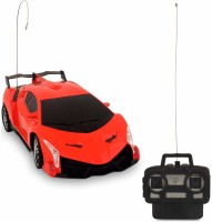 Whitewhale RC Full Function Scale Toy Radio Control Modern Team Racing Car(Red)
