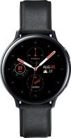 SAMSUNG Galaxy Watch Active 2 Steel Smartwatch(Black Strap, Regular)