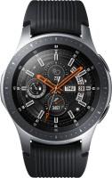 SAMSUNG Galaxy Watch 46 mm LTE Smartwatch(Black Strap, Regular)