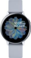 SAMSUNG Galaxy Watch Active 2 Aluminium Smartwatch(Grey Strap, Regular)