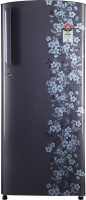 Videocon 215 L Direct Cool Single Door 5 Star Refrigerator(Gray Sparkle Flower, REF VZ225PTGS-HDA)