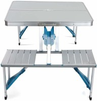 PICNIC TABLE Metal Cafeteria Table(Finish Color - multi)