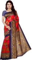 Vimalnath Synthetics Self Design Mysore Art Silk Saree(Red)
