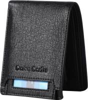 Dezire Crafts Men Casual, Formal Black Artificial Leather Wallet(6 Card Slots)