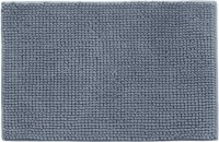 UEBDANAI Cotton Bathroom Mat(Grey, Free)