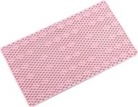UEBDANAI PVC (Polyvinyl Chloride) Bathroom Mat(Pink, Free)