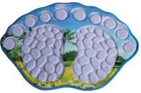 UEBDANAI Polyester Bathroom Mat(Multicolor, Free)