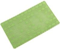 UEBDANAI PVC (Polyvinyl Chloride) Bathroom Mat(Green, Free)
