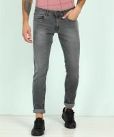 Peter England University Skinny Men Black Jeans