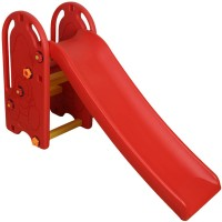 Miss & Chief Colorful Junior Plastic Garden Slide for Kids/ Toddlers(Red)