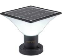 HARDOLL Solar Lights for Outdoor Home Garden 20 LED Waterproof Gate Pillar Lamp Solar Light Set(Free Standing Pack of 1)