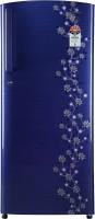 Videocon 215 L Direct Cool Single Door 5 Star Refrigerator(Purple Point Flower, REF VZ225PTPP-HDA)