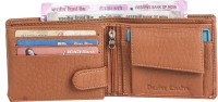 DEZiRE CRAfTS Men Formal, Casual Tan Artificial Leather Wallet(9 Card Slots)