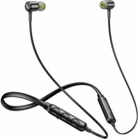 Red Lemon Dhoom D110 Sports Neckband Bluetooth Headset(Black, In the Ear)