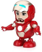 BeBe Giggles Dancing Iron Man Avengers Toy Figure Action (Red)