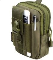 NIRVA Multi-Purpose Outdoor Tactical Waist Bag Water Resistant Outdoor Sport Travel Pouch EDC Molle Belt Waist Pouch Security Purse Waist Belt Bag(Green)