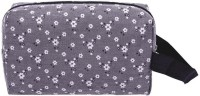 Fashion Women Waterproof Flower Print Clutch Cosmetics Storage Makeup Bags