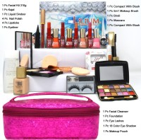 Adbeni Beauty and The Best Makeup & Skin Care Home Salon Kit Pack GC-913