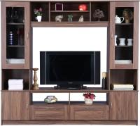 HomeTown Missouri Engineered Wood TV Entertainment Unit(Finish Color - Columbia Walnut)