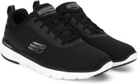 Skechers FLEXADVANTAGE3.0 Running Shoes For Men(Black)