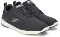 Skechers FLEXADVANTAGE3.0 Running Shoes For Men(Grey)