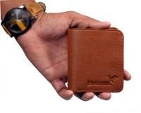 SHAMRIZ Men Tan Artificial Leather Wallet(8 Card Slots)