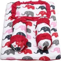 Miss & Chief 4pc Cotton Bedding Set(Pink)