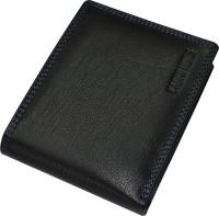 CADRO HIDES Men Black Genuine Leather Wallet(9 Card Slots)