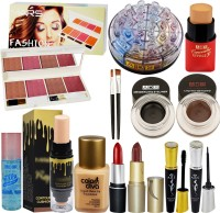 ADS 24 Shade Eyeshadow With Long Lasting Beauty Product Set of 11 GCI815