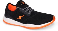 Sparx Men SM-399 Black Fluorescent Orange Walking Shoes For Men(Black)