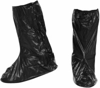 Futurekart Waterproof Non-slip Shoes Covers Rain Boots Reflective for Motorcycle PP (Polypropylene) BLACK Boots Shoe Cover(15.4 x 12.6 x 4.7inch Pack of 1)