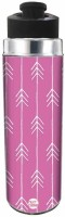 Nutcase White Arrow with Pink Background 550 ml Bottle(Pack of 1, Multicolor)