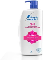 HEAD & SHOULDERS 2-in-1, Smooth & Silky, 1 Litre(1 L)