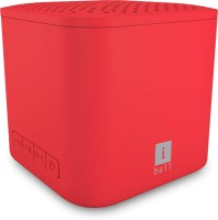 iBall Musi Cube X1 3 W Bluetooth  Speaker(Red, Stereo Channel)