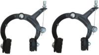 ESI-EVOLUTION Ashoka break Bicycle U Brake MTB Cycling Road Bike Fixed Gear Metal Rubber (Black) Brake Shoe(Black)