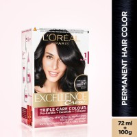L'Oreal Paris Excellence Creme Hair Color(Black 1)