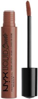 NYX PROFESSIONAL MAKEUP Professional Makeup Liquid Suede Cream Lipstick, Sandstorm, 4(Peach, 4 ml)