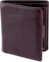 Billfold Men Casual, Formal, Travel, Evening/Party Brown Genuine Leather Wallet(11 Card Slots)